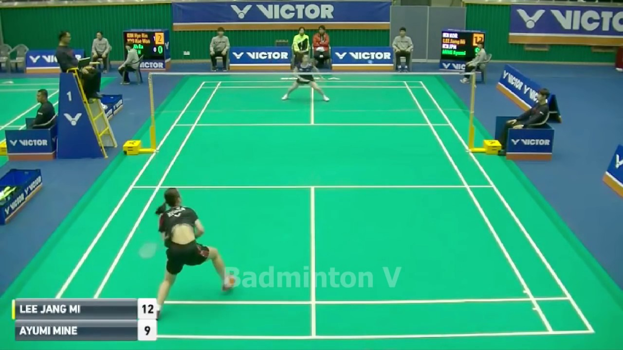 Badminton KoreaMaster 2016 Lee Jang Mi vs Ayumi Mine Quarter Final