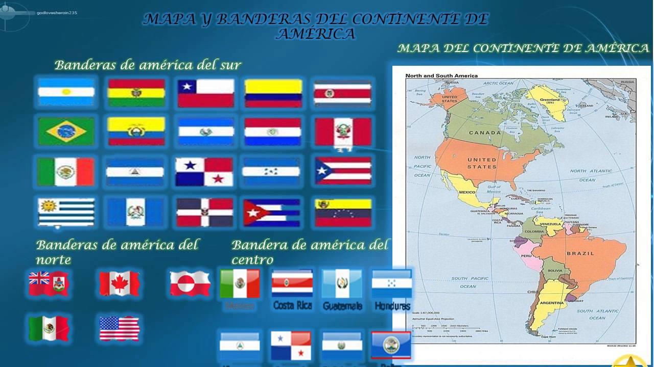 Todos Los Continentes Y Sus Banderas...por...rakel...m.r