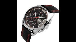 Relógio Original Skmei Com Cronógrafo Modelo 9106