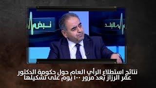 نتائج استطلاع الرأي العام حول حكومة الدكتور عمر الرزاز بعد مرور 100 يوم على تشكيلها