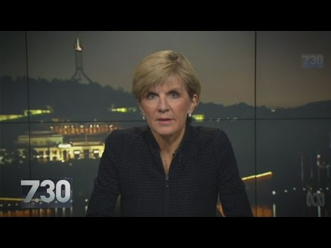 Julie Bishop talks to Leigh Sales ahead of Bali executions