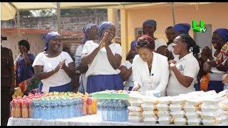 Nana Ama Mcbrown celebrates 41st birthday with Nsawam prison inmates