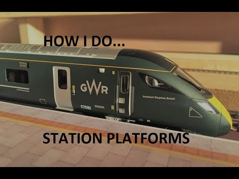 Pennyhill Junction Video 37 - How I do... Station Platforms