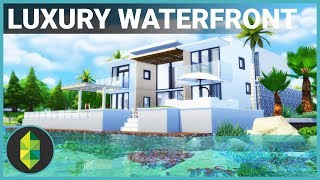 Video $300,000 Luxury WATERFRONT Home | The Sims 4 House Building download MP3, 3GP, MP4, WEBM, AVI, FLV Maret 2018