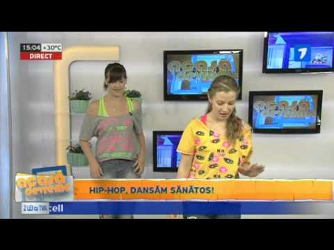 Hip Hop Warm up in Moldova la Chisinau JurnalTV Dallas Dance Studio