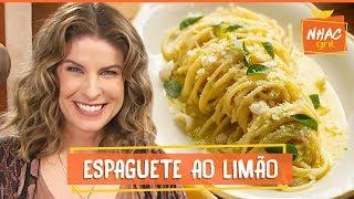 Download lagu Macarrão com molho de limão e queijo parmesão | Rita Lobo | Cozinha Prática