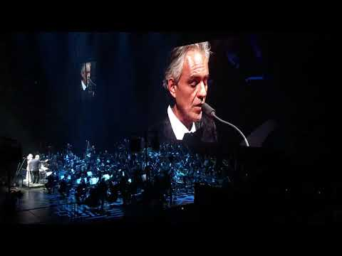 Andrea Bocelli - Montreal 2018 - If Only and Time to say goodbye
