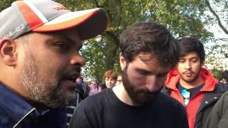 Is God mortal or immortal? Br Hashim and Richard at Speakers Corner.