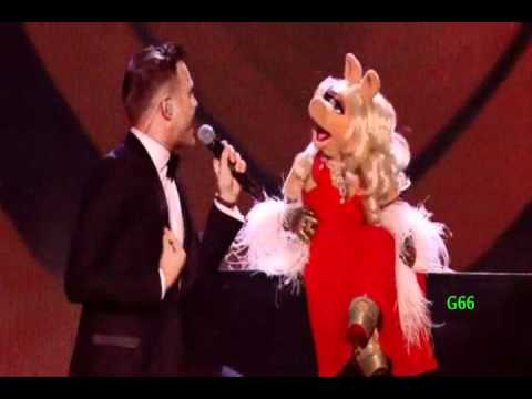 Olly Murs & The Muppets ~ Dance With Me Tonight (X Factor UK 2011)
