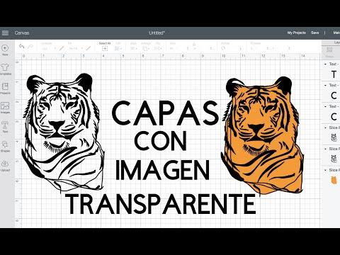 Como hacer Capas en una imagen transparente