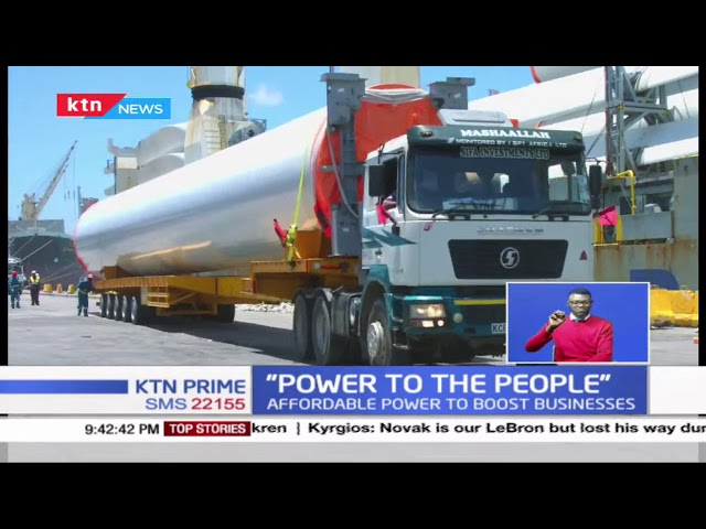 1000MW Kipeto wind farm roars back to life, vows to provide affordable power to the people