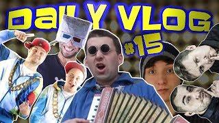 Daily Vlog#15 - LCHP STREAM, Jarekogarek w studio i BYDŁO  i hcuj ChwytakTV]