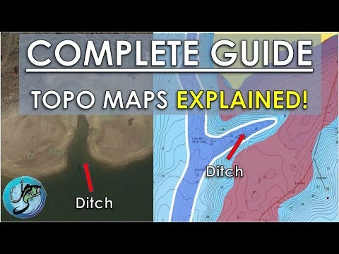 Complete Guide To Topo Maps | Top 7 Structures For Bass Fishing