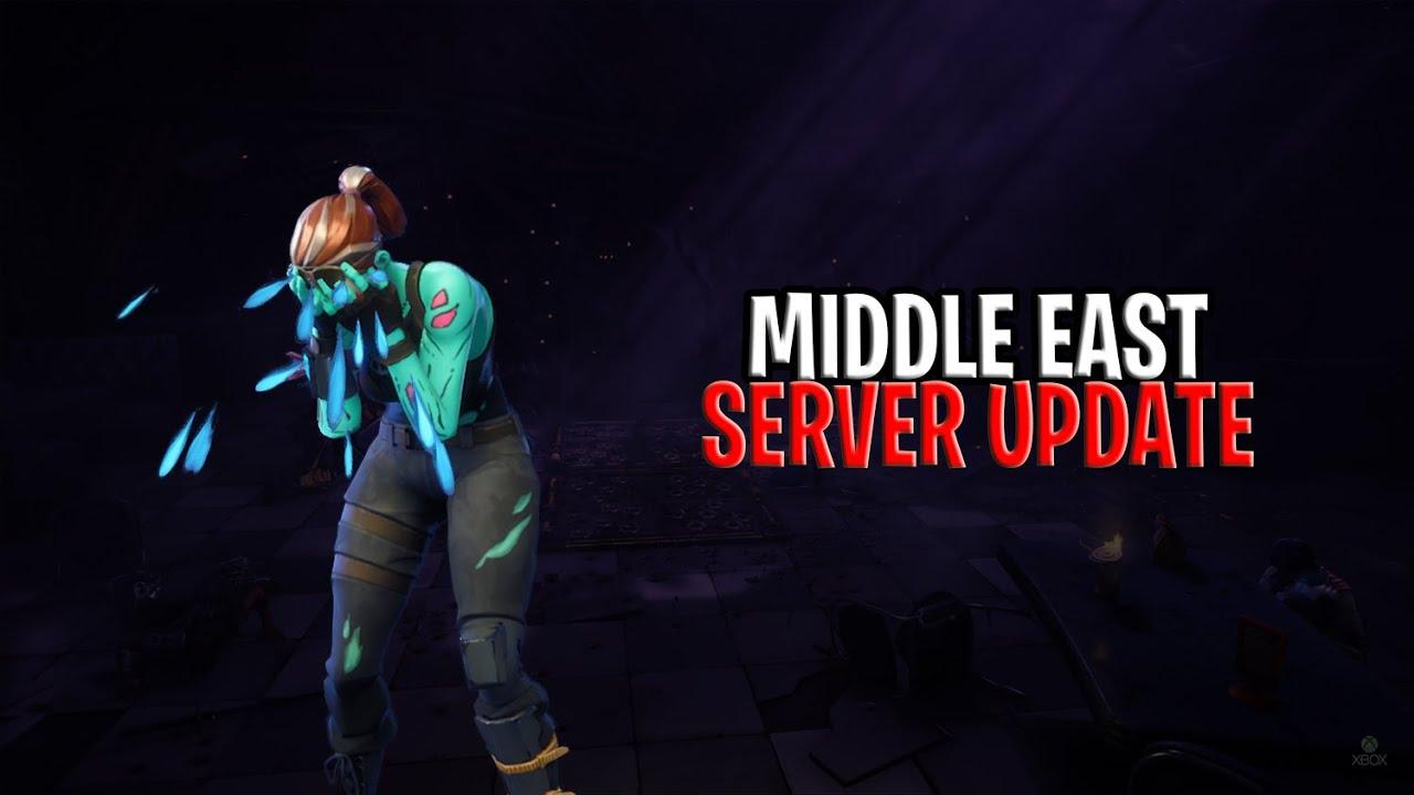 Middle East Servers Fortnite Season 8