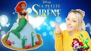 ♡• GÂTEAU PRINCESSE ARIEL   RECETTE CAKE DESIGN •♡