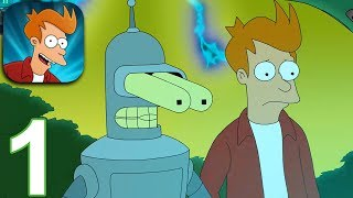 FUTURAMA Worlds of Tomorrow Gameplay Part 1 - Getting Started (iOS Android)