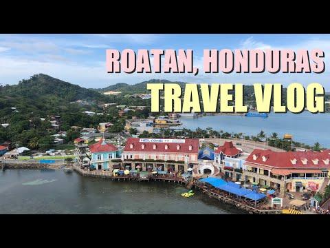 ROATAN HONDURAS TRAVEL VLOG