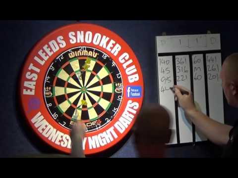 East Leeds Darts - Peter Armitage vs Danny Golden - 14/10/2015