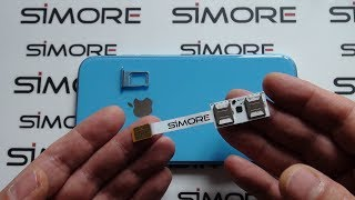 iPhone XR Dual SIM Adapter 4G for iPhone XR iOS 12 - SIMore Speed X-Twin XR