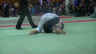 福住柔術 かずしくん無差別級(アダルト白帯)2回戦 vs Lucas Andre選手...