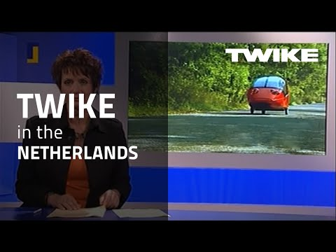 Archiv-Video 2005: Netherlands television report about TWIKE