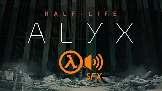 Half-Life: Alyx but with Half-Life 1 SFX