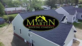 Light Charcoal House #2 - Martin Roofing Company