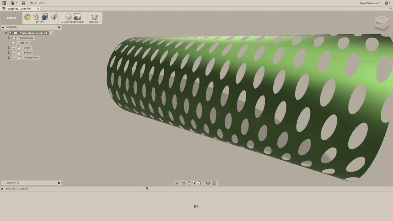 Creating and Editing Appearances in Fusion 360