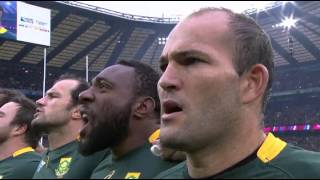 RWC 2015 Anthems - Wales vs South Africa [Quarter Final]