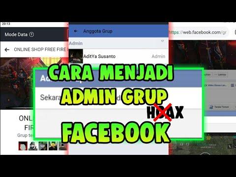 Cara Menjadi Admin Grup Facebook Cara Nuyul Grup Facebook Youtube