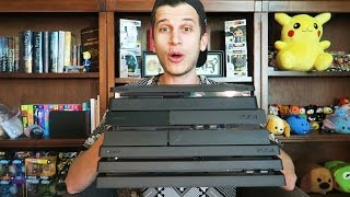 PS4 Pro Unboxing and Review!! Playstation 4 Pro vs. PS4 vs. XB1 vs. PS4 Slim!!