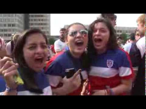 #GOAL | World Cup Fans in Boston Massachusetts, Government Center