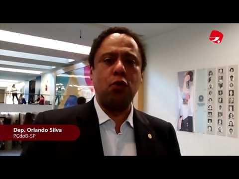 Deputados Orlando Silva e Alice Portugal avaliam risco financeiro