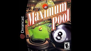 DREAMCAST NTSC GAMES: Maximum Pool