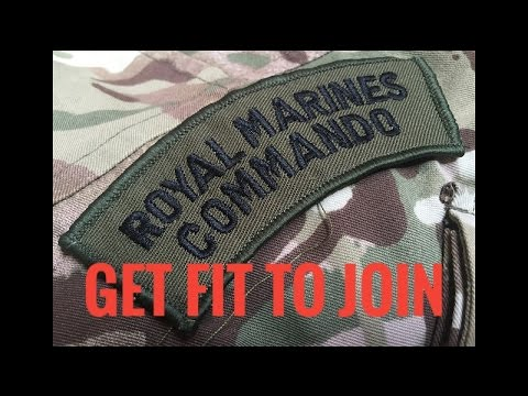 Royal Marines Training Programme: Phase 1 Get Fit to Join