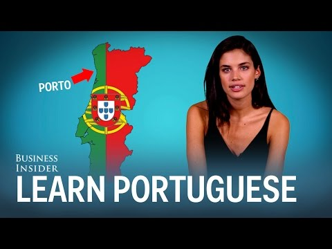 Victoria's Secret Angel teaches you Portuguese