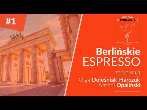 #BerlińskieEspresso » PREMIERA: 4.08.2020 » Zapraszają Olga Doleśniak-Harczuk i Antoni Opaliński.