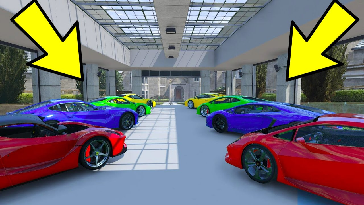 12 Car Garage new gta online import/export dlc released! new super cars, 60 car