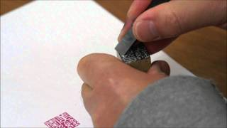 Carving a Custom Design Chinese Name Chop in the Han Style Seal Script by Henry Li