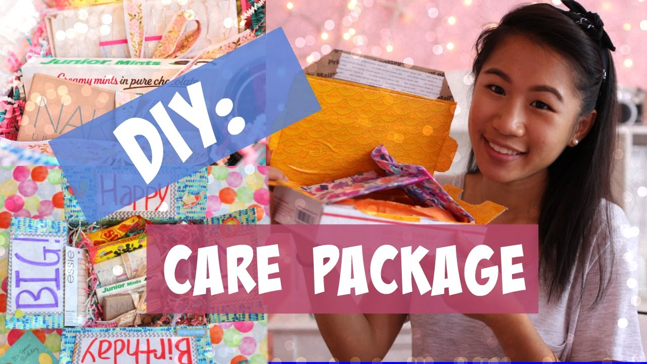 diy care package youtube
