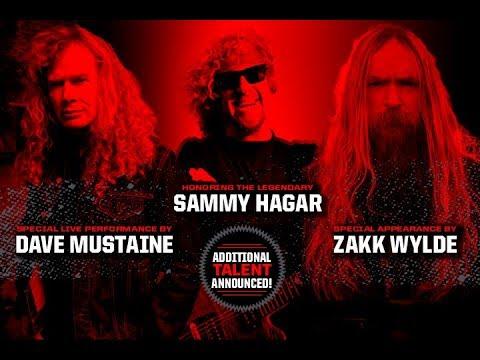 Dave Mustaine, Sammy Hagar, Zakk Wylde Lead Loudwire Music Awards Additions