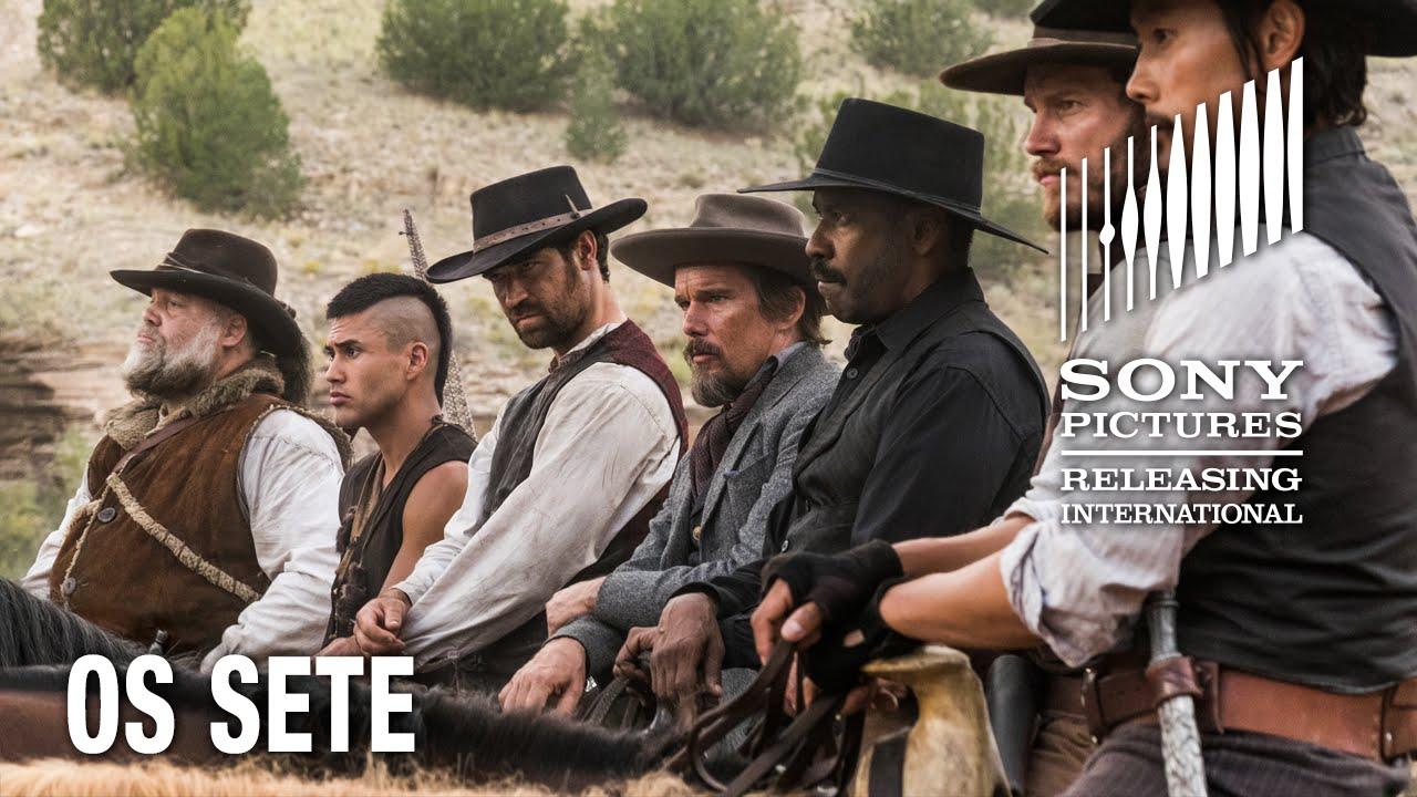 7 Noivas Para 7 Irmãos Dublado Completo sete homens e um destino  os sete  hoje nos cinemas