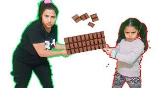 Kardeşim Çikolataların Hepsini Yedi  يريدوا نفس الشوكولاته