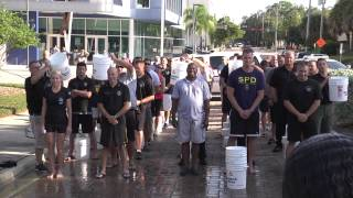 Sarasota Police Department Cold Water Challenge for Fallen Officers