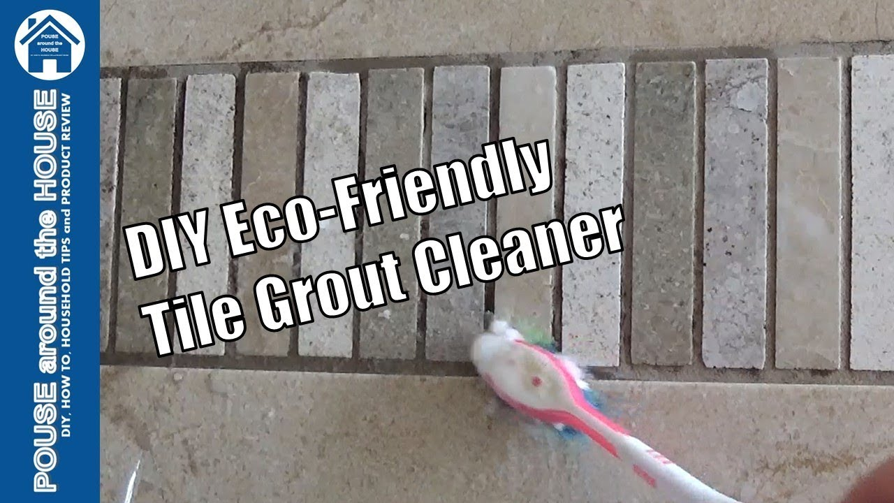 DIY Eco-Friendly Tile Grout Cleaner. DIY grout cleaning ...