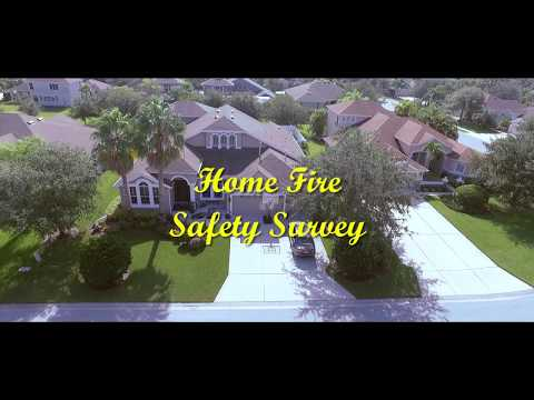 Home fire safety survey