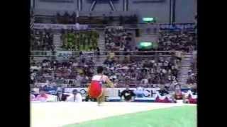 Masayuki Matsunaga (JPN) FX 1995 Sabae Worlds Team Optional