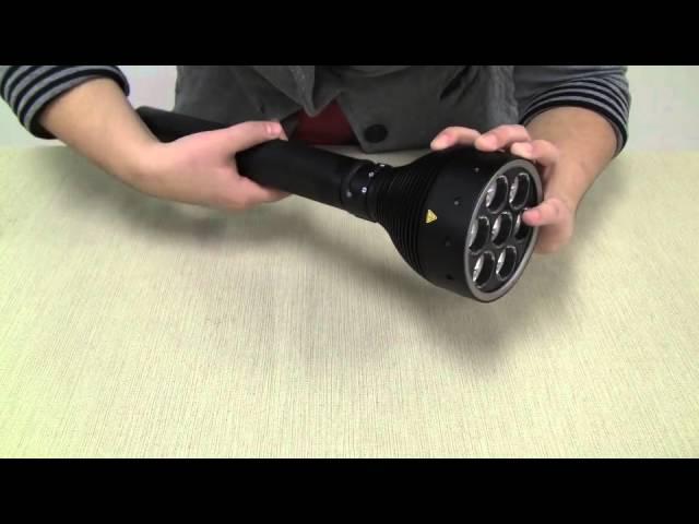 LED Lenser X21R.2 3000 Lumen Flashlight Review