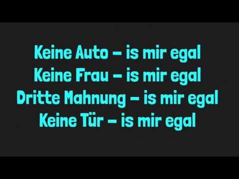 Ist mir egal Lyric [German]