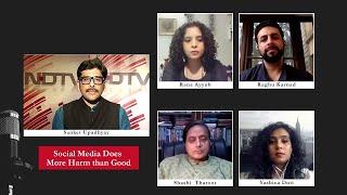 India Debates - Social Media Does More Harm Than Good?